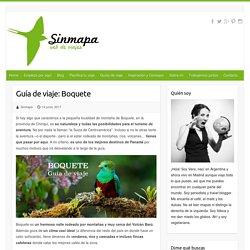Guía de viaje: Boquete - Sinmapa