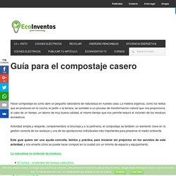Guía para el compostaje casero