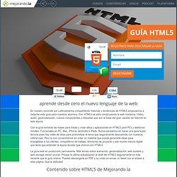 Guía de HTML5 en PDF