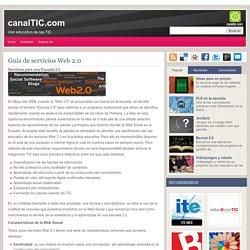 Guía de servicios Web 2.0