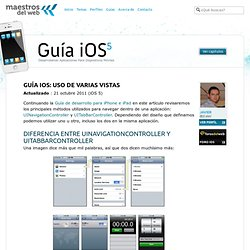 Guía iPhone e iPad : Uso de varias vistas