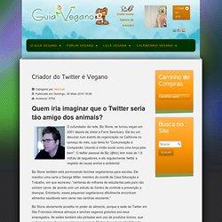 Criador do Twitter é Vegano