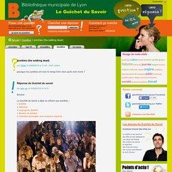 Le Guichet du Savoir - Consulter le sujet - zombies (the walking dead)