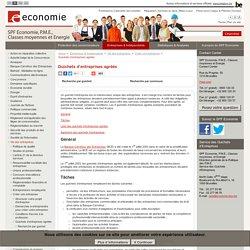 Guichets d'entreprises agréés