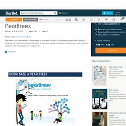 Guida base all'uso di Pearltrees