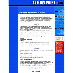GUIDA HTML - <BODY> Impostar el fondo del documento