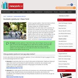 Guidade cykelturer i New York - NewYork.se