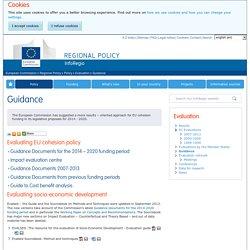 Guidance - Regional Policy