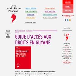 Guide d'accès aux droits en Guyane