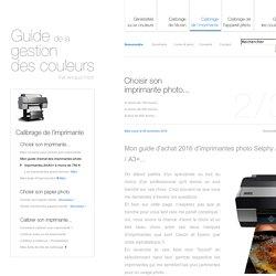 Mon guide d'achat des imprimantes photo par Arnaud Frich