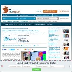 Guide d'achat d'un écran interactif pour une salle de classe