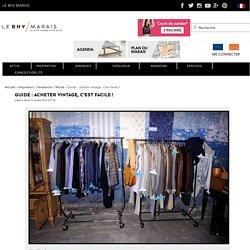 Guide : acheter vintage, c'est facile ! - BHV