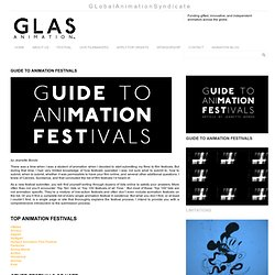 GUIDE TO ANIMATION FESTIVALS « GLAS Animation