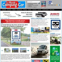 Guide des aires 2017, l'annuaire de la liberté en camping-car - Infos