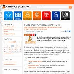 Guide d'apprentissage sur Scratch