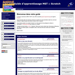 [Guide d'apprentissage MST :: Scratch]