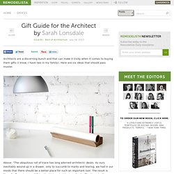 Gift Guide for the Architect