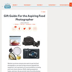 Gift Guide: For the Aspiring Food Photographer