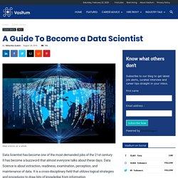 What is Data Scientist?