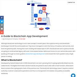 A Guide to Blockchain App Development