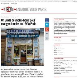 Un Guide des bouis-bouis pour manger à moins de 15€ à Paris