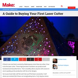 A Guide to Buying Your First Laser Cutter