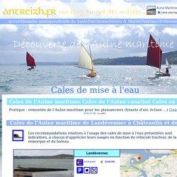 Guide des cales de mise à l'eau de l'Aulne maritime - ANTREIZH.FR
