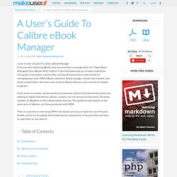 Managing Your eBooks With Calibre