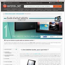 Guide d'achat 2013 : comment choisir sa tablette tactile