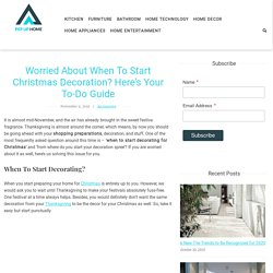 Guide To Start Christmas Decoration for Home - Pep Up Home