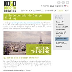 Le Guide complet du Design Thinking