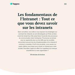 Le Guide Complet Intranet de 2019 - Happeo