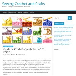 Guide de Crochet - Symboles de 130 Points