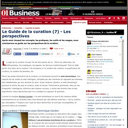 Le Guide de la curation (7) - Les perspectives