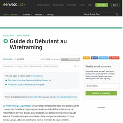 Guide du Débutant au Wireframing
