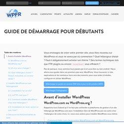 Guide de démarrage pour débutants - WPFR