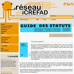 Guide des statuts