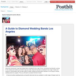 A Guide to Diamond Wedding Bands Los Angeles