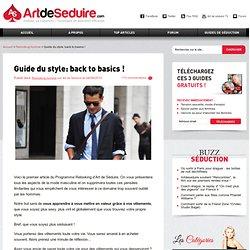 Guide du style: back to basics !