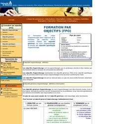 FPO [ Guide d'élaboration d'un plan de cours ]
