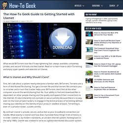 The How-To Geek Guide to Getting Started with Usenet