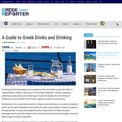 A Guide to Greek Drinks and Drinking