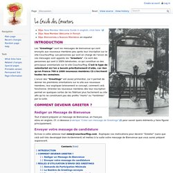 Le Guide des Greeters - Couchwiki.org