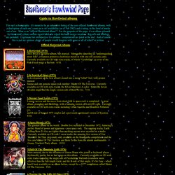 Hawkwind - Starfarer's Guide to Hawkwind Albums