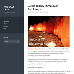 Guide to Buy Himalayan Salt Lamps