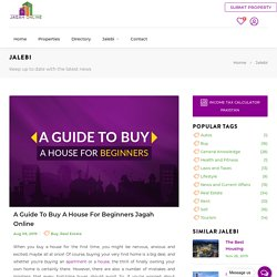 A guide to Buy a house for beginners Jagah Online