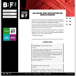 Un guide des initiatives en bibliothèque