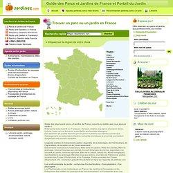 Parcs et Jardins de France : Tourisme