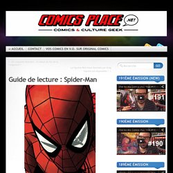Guide de lecture : Spider-Man