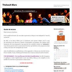 Guide de lecture